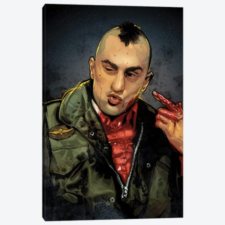 Taxi Driver Canvas Print #AKM263} by Nikita Abakumov Canvas Art