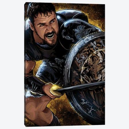 Gladiator Canvas Print #AKM265} by Nikita Abakumov Canvas Print