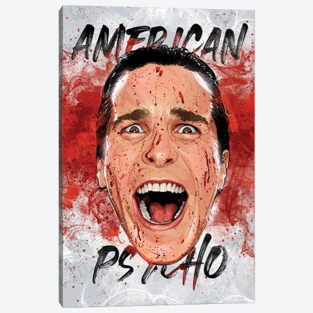 American Psycho Canvas Print #AKM276} by Nikita Abakumov Canvas Art