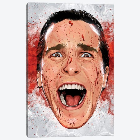 American Psycho Canvas Print #AKM277} by Nikita Abakumov Canvas Artwork