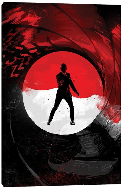 James Bond 007 Canvas Art Print