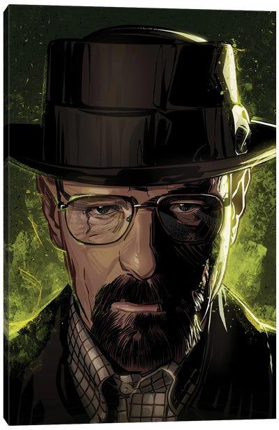 Breaking Bad Walter Canvas Art Print