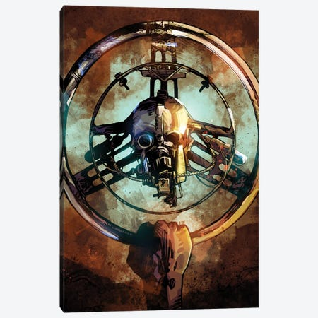 Mad Max Wheel II Canvas Print #AKM288} by Nikita Abakumov Canvas Wall Art