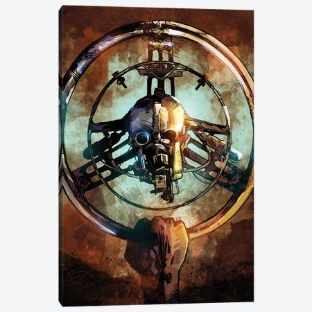 Mad Max Wheel II Canvas Print #AKM288} by Nikita Abakumov Canvas Wall Art