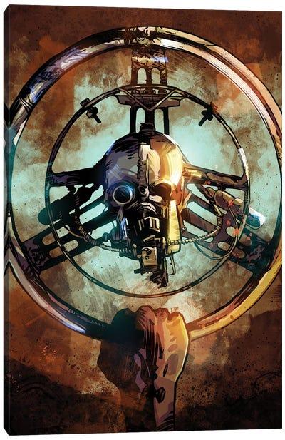 Mad Max Wheel II Canvas Art Print