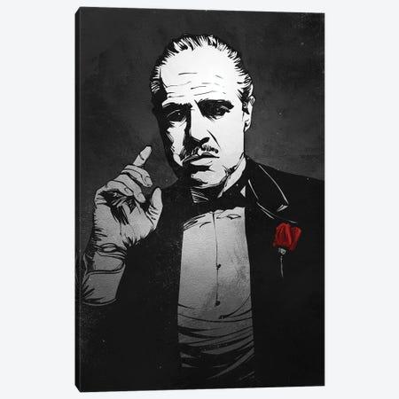 Godfather Canvas Print #AKM28} by Nikita Abakumov Art Print