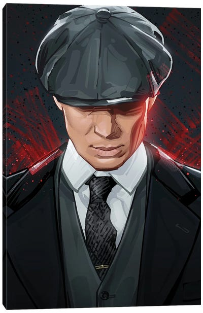 Tommy Shelby Peaky Blinders Canvas Art Print
