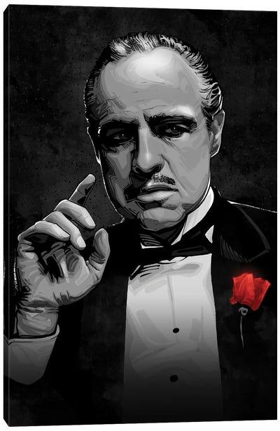 The Godfather Canvas Art Print