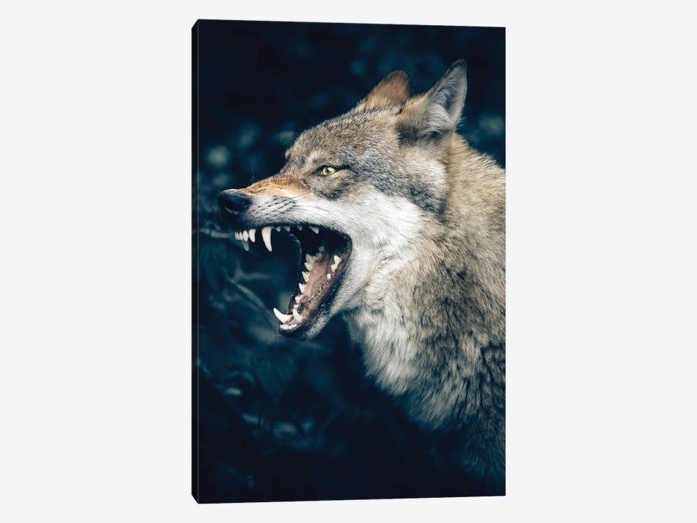 Wolf Roar by Nikita Abakumov 1-piece Art Print