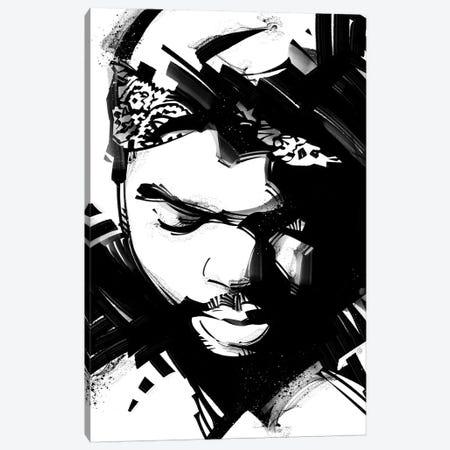 Ice Cube II Canvas Print #AKM31} by Nikita Abakumov Canvas Artwork