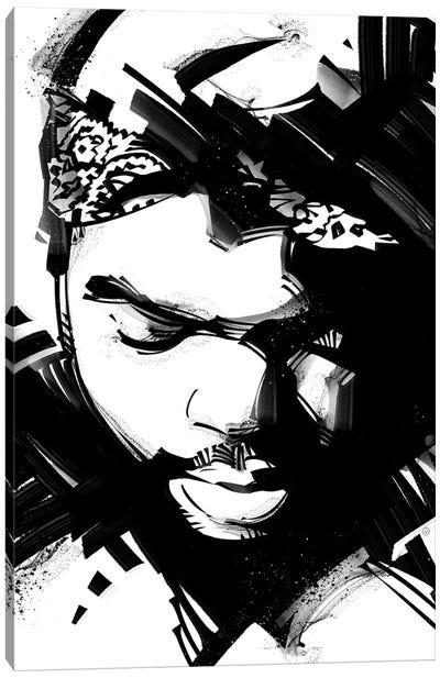 Ice Cube II Canvas Art Print
