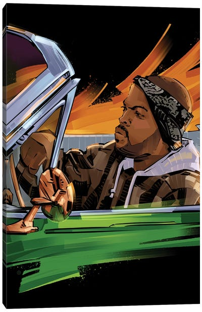 Ice Cube III Canvas Art Print