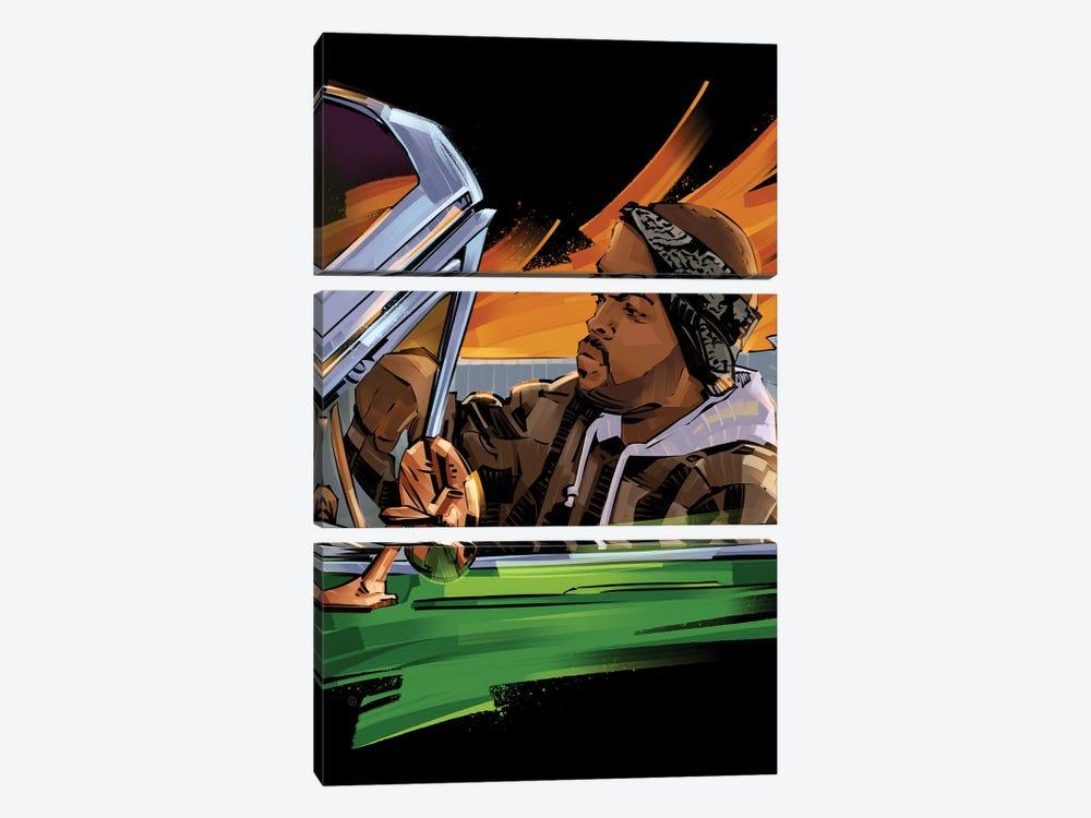 Ice Cube III by Nikita Abakumov 3-piece Art Print
