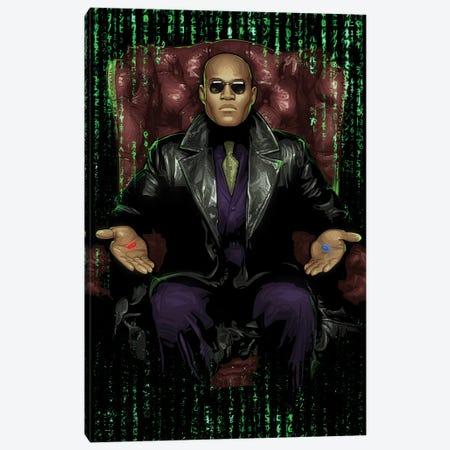The Matrix Chair Canvas Print #AKM333} by Nikita Abakumov Canvas Art