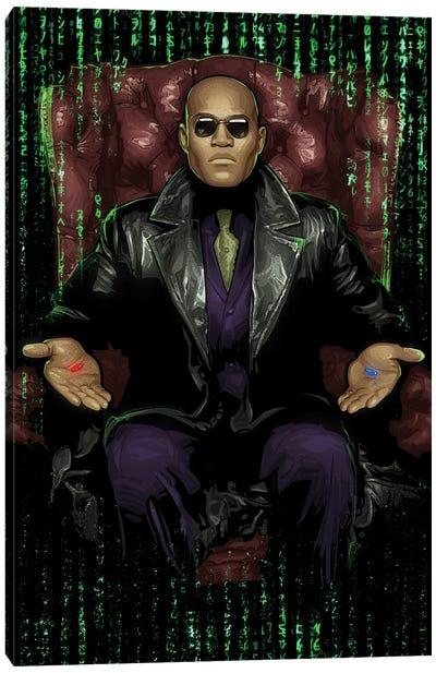 The Matrix Chair Canvas Art Print
