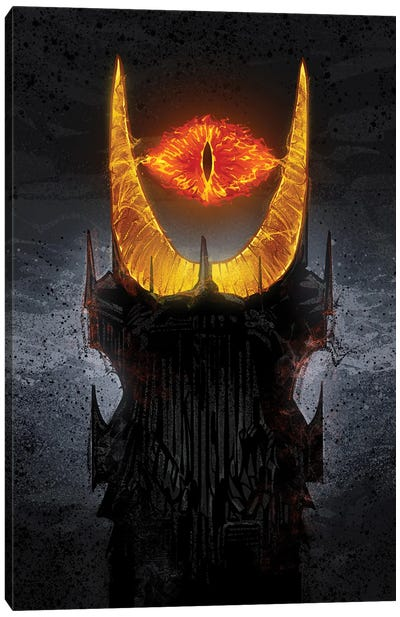 Mordor Tower Canvas Art Print