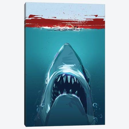 Jaws Canvas Print #AKM33} by Nikita Abakumov Canvas Wall Art