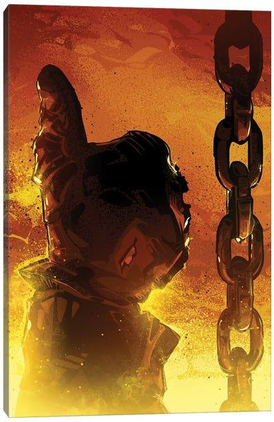 Terminator Thumb Canvas Art Print