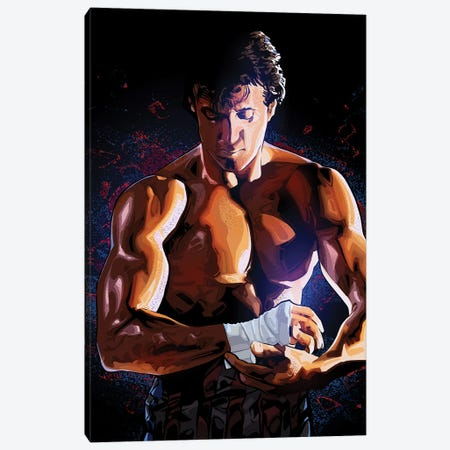 Rocky IV Canvas Print #AKM350} by Nikita Abakumov Canvas Art