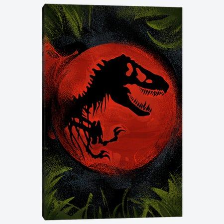 Jurassic World Canvas Print #AKM368} by Nikita Abakumov Canvas Art Print