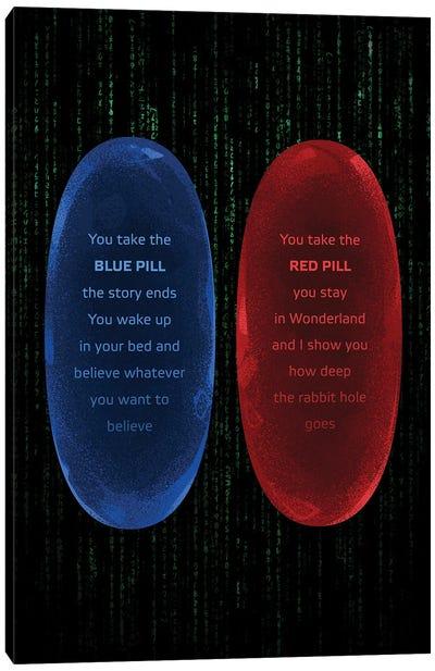 The Matrix Pills Canvas Art Print