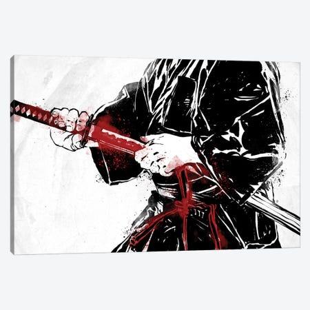 Katana Man Canvas Print #AKM38} by Nikita Abakumov Canvas Artwork