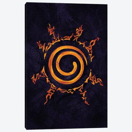 Naruto Sealing Canvas Print #AKM390} by Nikita Abakumov Canvas Art