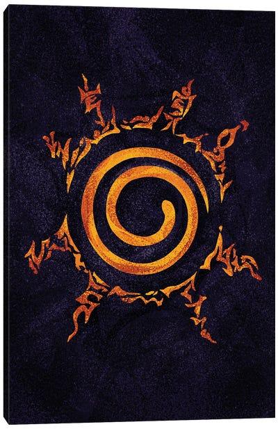 Naruto Sealing Canvas Art Print