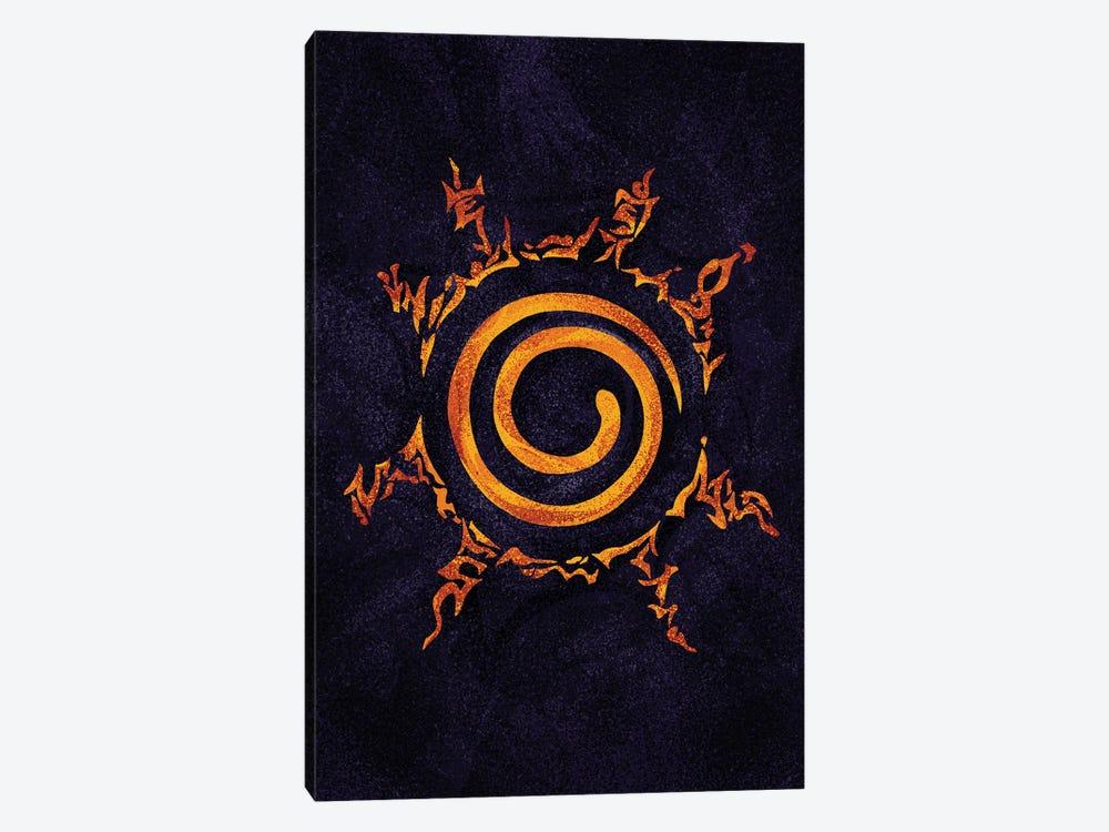 Naruto Sealing by Nikita Abakumov 1-piece Canvas Art