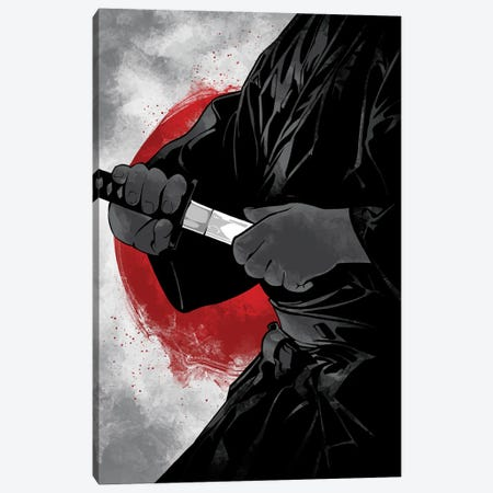 Samurai III Bushido Canvas Print #AKM395} by Nikita Abakumov Canvas Art Print