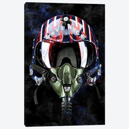 Top Gun Maverick Canvas Print #AKM397} by Nikita Abakumov Art Print