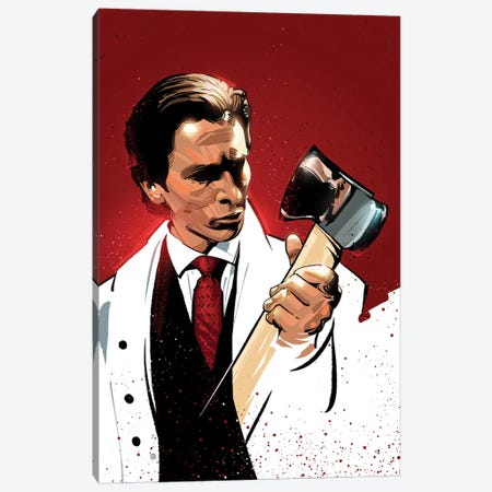 American Psycho Canvas Print #AKM3} by Nikita Abakumov Canvas Art