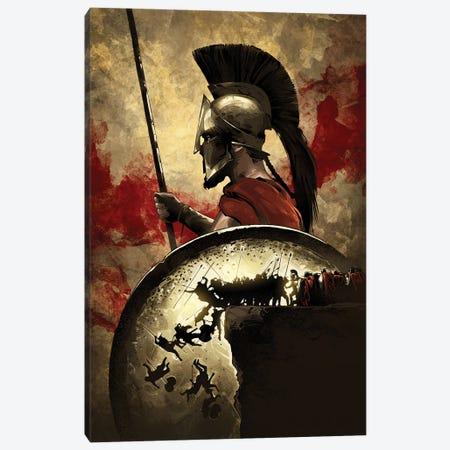 300 Sparta Canvas Print #AKM406} by Nikita Abakumov Art Print