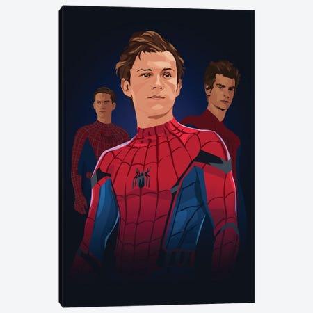 Super Spider Bros Canvas Print #AKM416} by Nikita Abakumov Canvas Art
