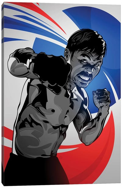 Manny Pacquiao Canvas Art Print