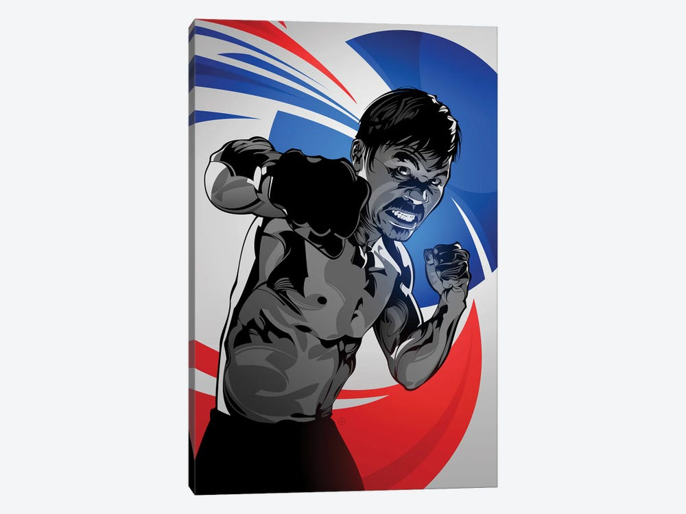 Manny Pacquiao by Nikita Abakumov 1-piece Canvas Print