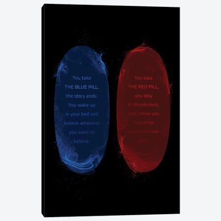 Matrix Pills Canvas Print #AKM43} by Nikita Abakumov Canvas Print