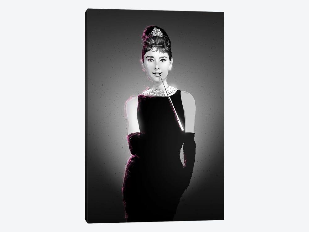 Audrey Hepburn by Nikita Abakumov 1-piece Art Print