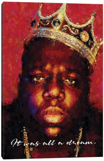 Biggie Canvas Art Print
