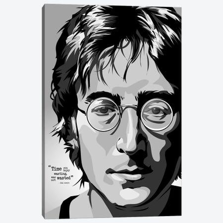 OMG Lennon Canvas Print #AKM70} by Nikita Abakumov Canvas Art