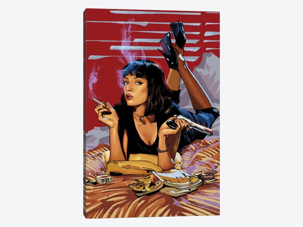 Pulp Fiction by Nikita Abakumov 1-piece Art Print