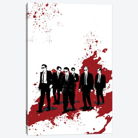 Reservoir Dogs Canvas Print #AKM74} by Nikita Abakumov Canvas Art Print