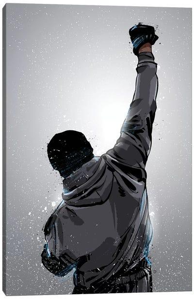 Rocky Win Canvas Art Print