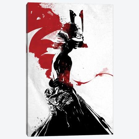 Samurai Girl Canvas Print #AKM78} by Nikita Abakumov Canvas Wall Art