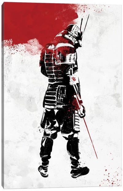Samurai Warrior Canvas Art Print