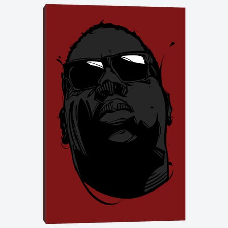 Biggie I  Canvas Print #AKM7} by Nikita Abakumov Canvas Art Print