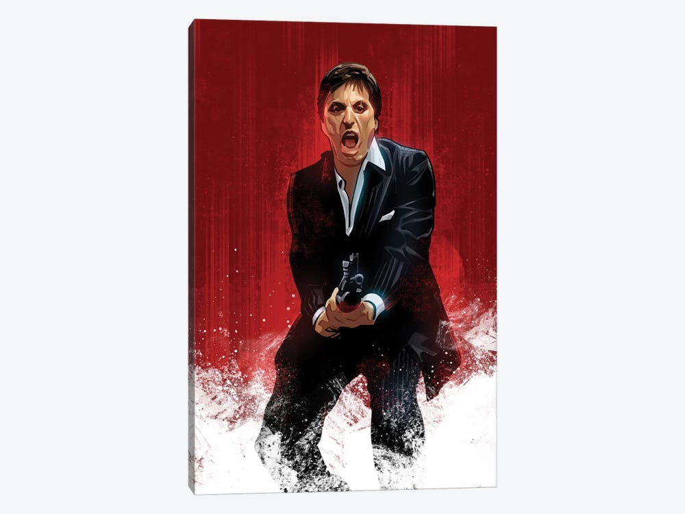 Scarface by Nikita Abakumov 1-piece Canvas Art Print
