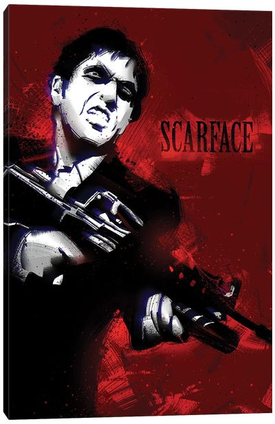 Scarface I Canvas Art Print