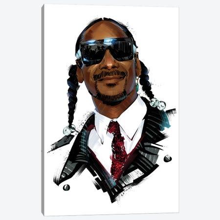Snoop Dogg Canvas Print #AKM85} by Nikita Abakumov Canvas Art