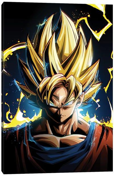 Super Saiyan Goku Canvas Art Print